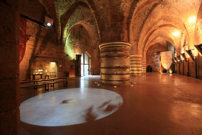 The Knight's Halls are great evidence for Akko's rich history