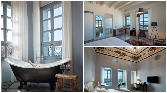 Beatifully deisgned rooms at the Efendi Hotel