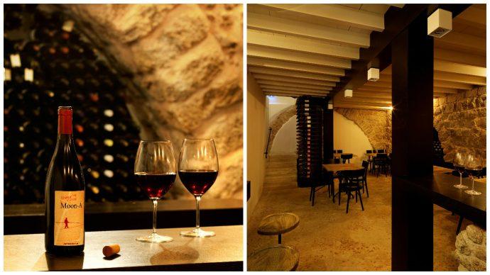 The Efendi's wine cellar