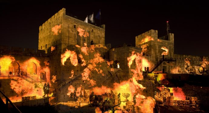 The Night Spectacular is a way of experiencnig history and understanding Jerusalem through your senses.