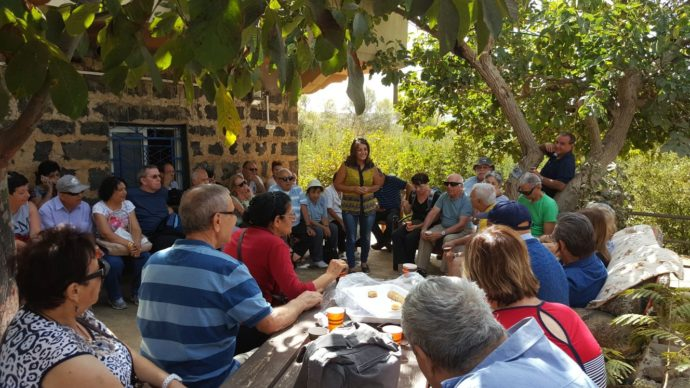 As part of the Druze culinary experience, travellers get to enjoy their lunch while hearing Nasiba's extraordinary story.