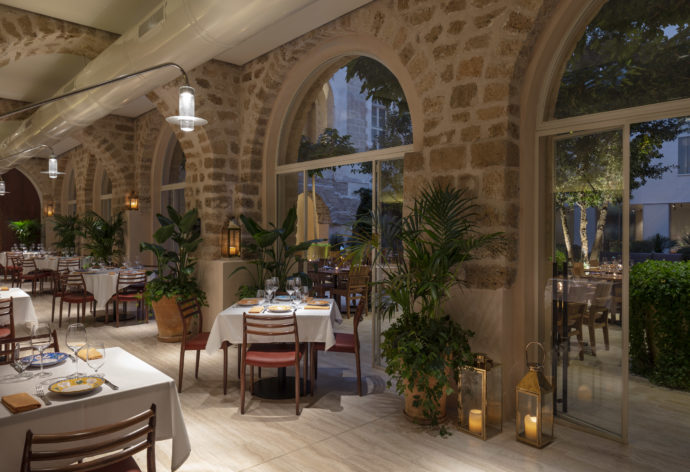 Don Camillo Restaurant at The Jaffa offers both great food and atmosphere.