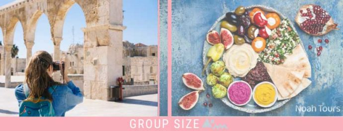 Don't miss the local cuisine while visiting the Old City of Jerusalem!