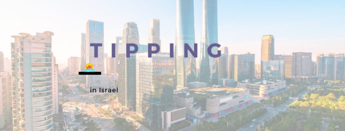 Tel Aviv's skyline and tipping in Israel.