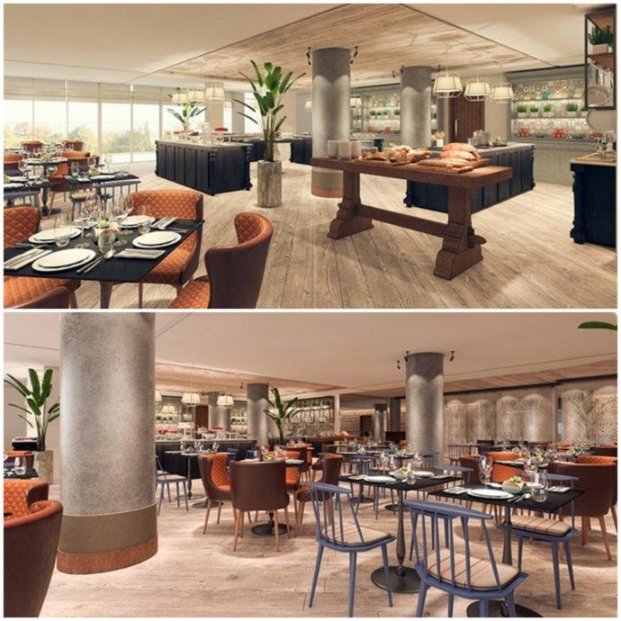 dining locations at mizpe hayamim hotel