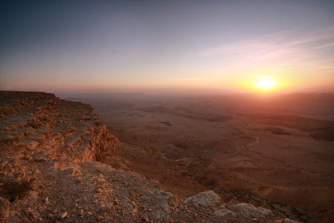 sunset-negev-desert