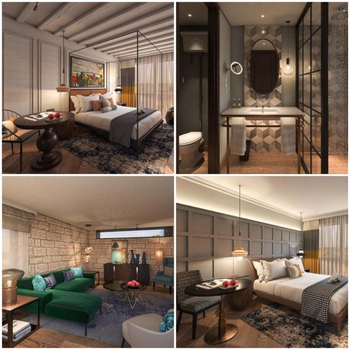rooms at mizpe hayamim hotel
