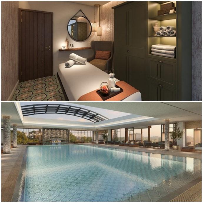 spa and pool at mizpe hayamim hotel