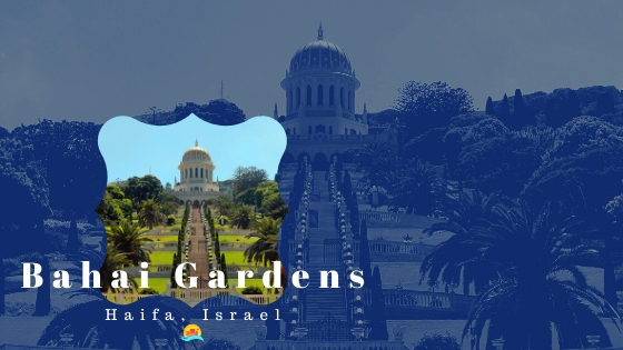 The Bahai Gardens at Haifa are the most famous site in the city.