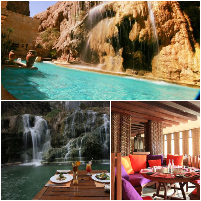 Ma'in Hot Springs Resort near the Dead Sea, Jordan