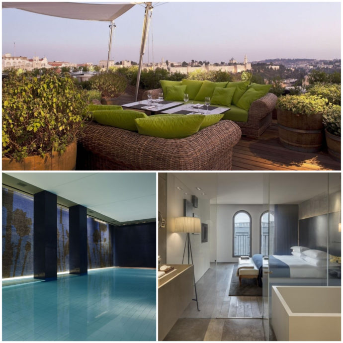Mamilla Hotel, Jerusalem, member of the leading hotels of the world and one of the best luxury hotels in Israel.