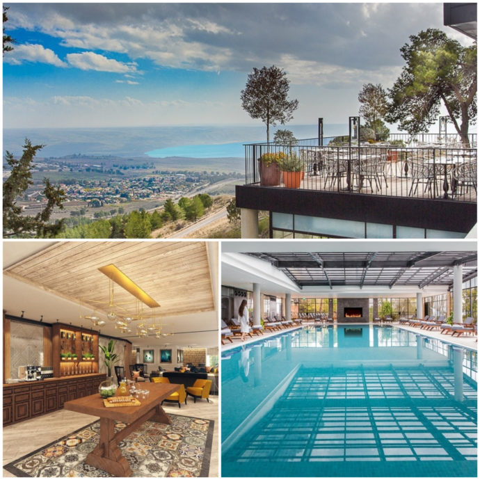 Mizpe Hayamim Hotel overlooks the Galilee Sea and offers an atmosphere of serenity.