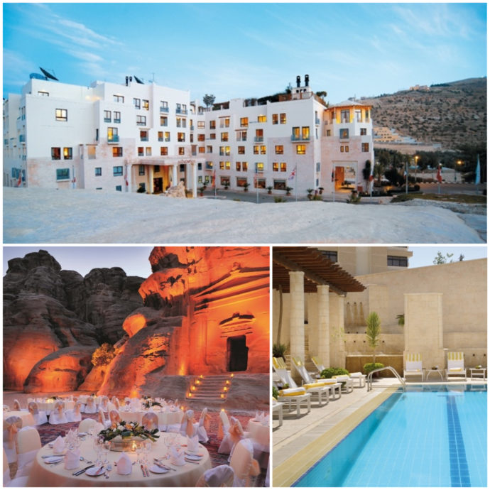 Movenpick Resort Is located right at the entrance to Petra's national park - perfect location and beautiful facilities.
