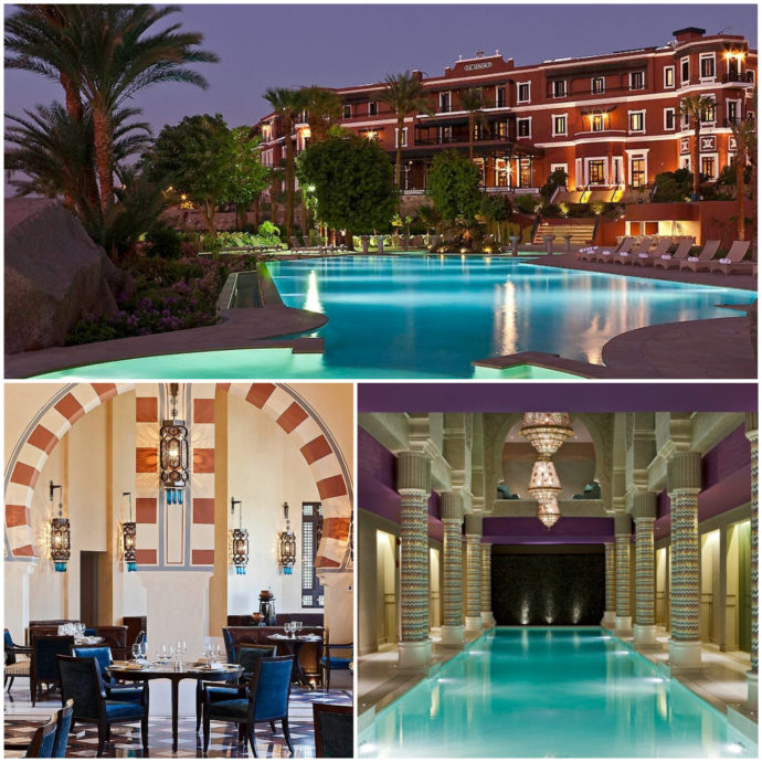 Sofitel Old Cataract Hotel in Aswan is classically designed and offers both inner and outer pools.