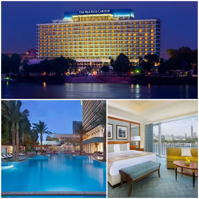 The Nile Ritz Carlton in Cairo, is one of the Egypt's leading hotels due to it's great rooms, amazing pool and friendly staff.